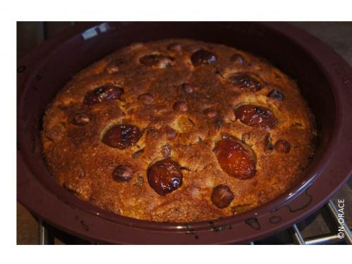Semaine du gout # 1 gâteau aux prunes