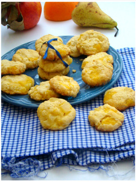 COOKIES POMME-POIRE,(Weight Watchers)