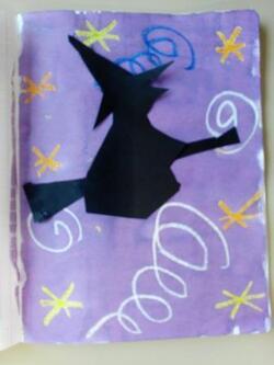 Une sorcière dans les courants d'air ...