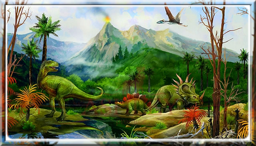Les dinosaures Lézard terrible
