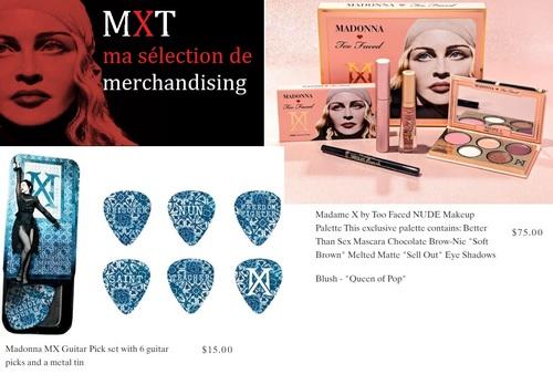 MADAME X TOUR - Merchandising