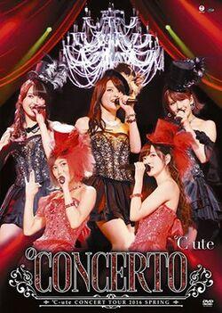 """Cover du DVD & Bluray de la tournée """"°Concerto"""""""