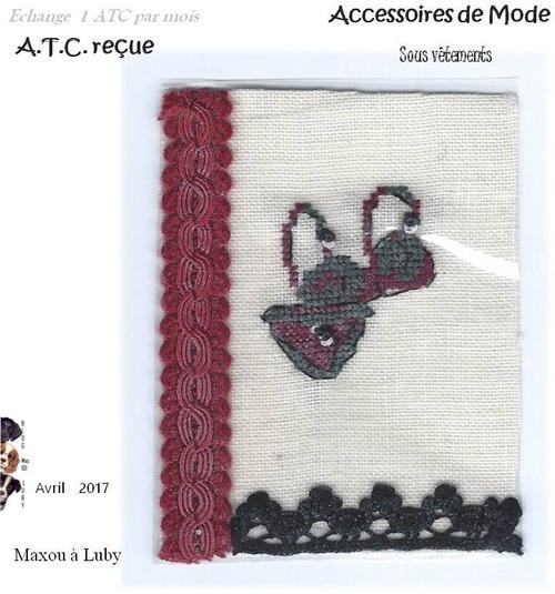 ATC Accesssoires de Mode : Avril Sous-vêtements