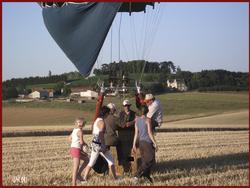 - Voyage en montgolfière 2- le vol