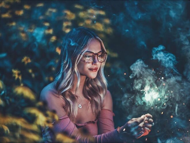 photo retouching happiness by brandon woelfel