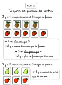 Les maths et moi (fichier pour CP)