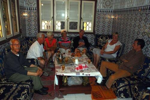Avec Haïssa et Aziz