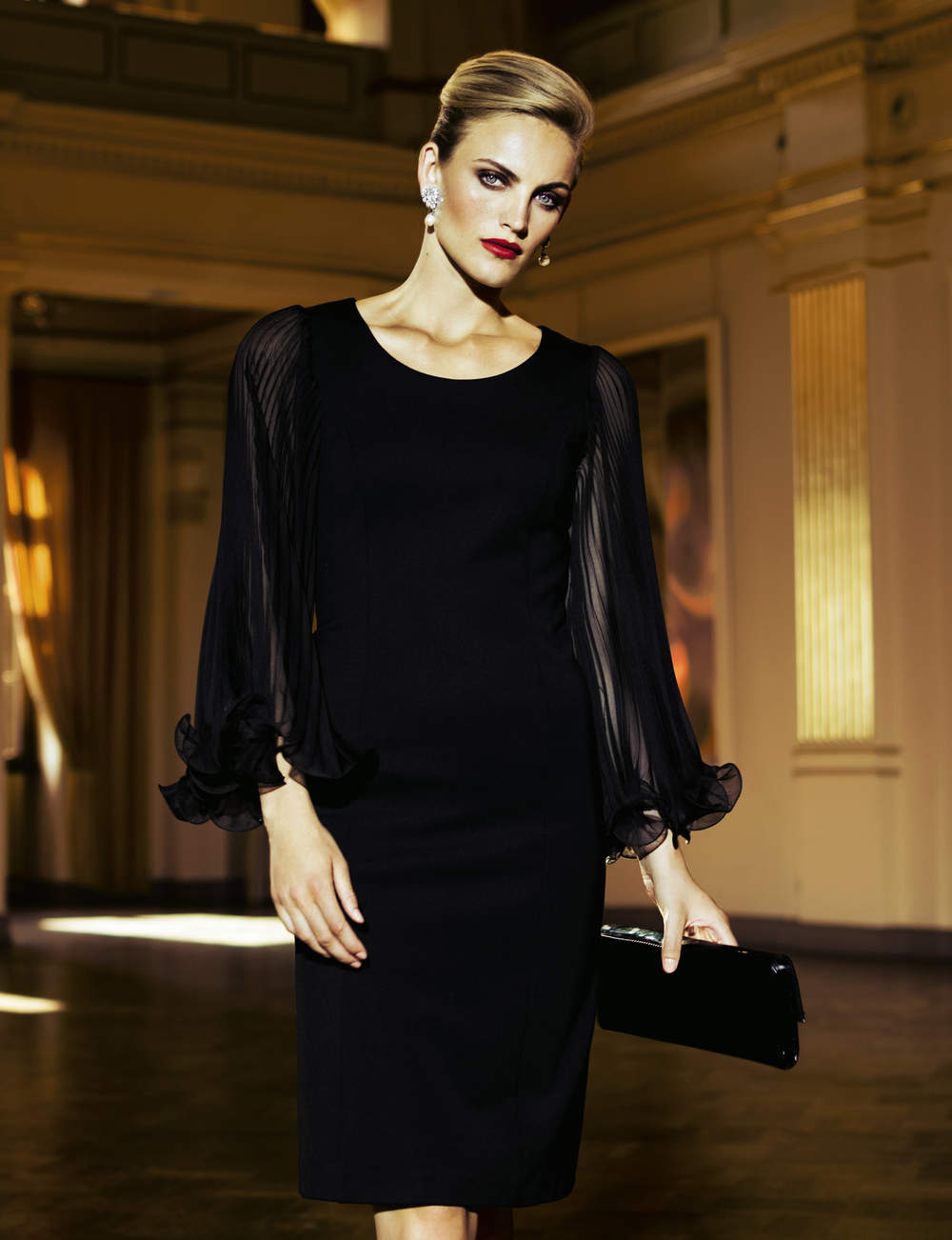 Robe noire : glamour