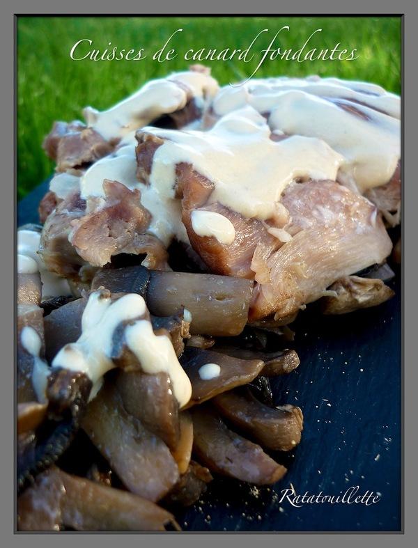 Confit de canard diététique (cuisson en mijoteuse)