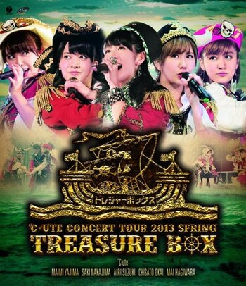 Bluray : ℃-ute Concert tour 2013 Spring~Treasure Box~