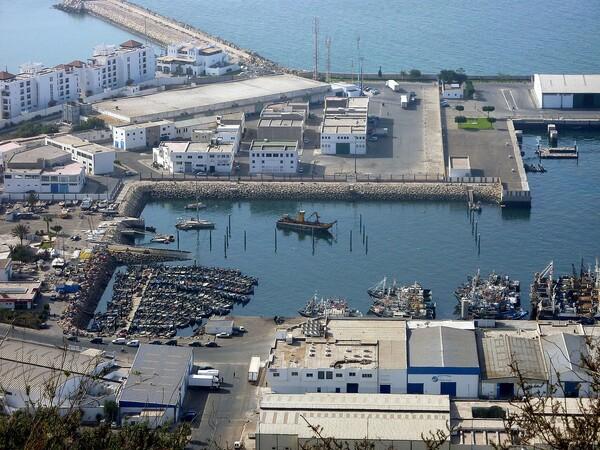 Agadir Panorama port