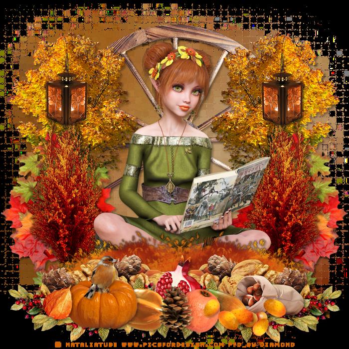 Défi automne au jardin des copines
