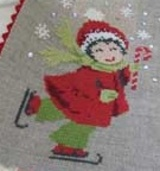 Noëlie, la petite patineuse.