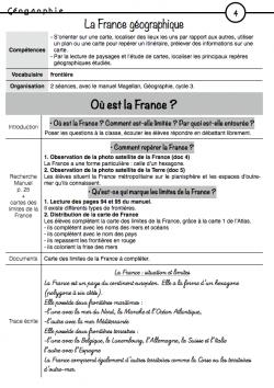 Géographie période 2 - la France