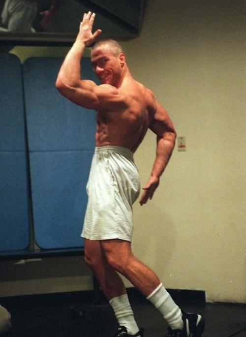 birthday/musculation/Van Damme