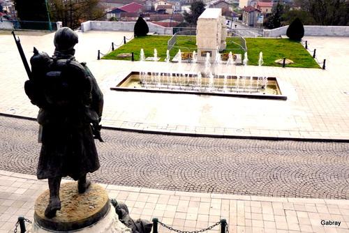 Saint Gaudens en 31: monument vandalisé!