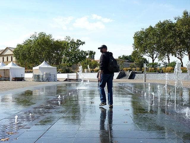 La fontaine de la République à Metz 6 Marc de Metz 20 09