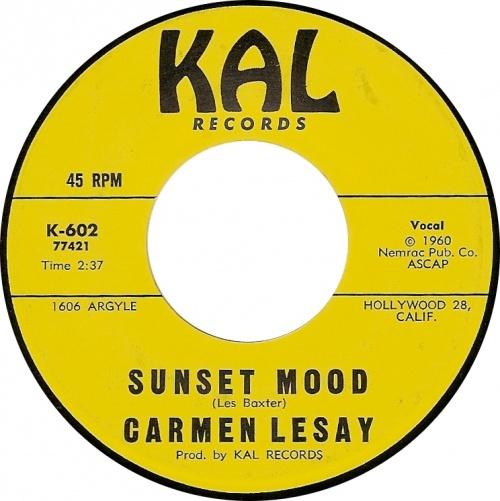 Carmen Lesay : Sunset Mood