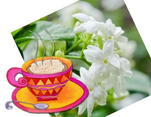 Un café, une fleur !!!