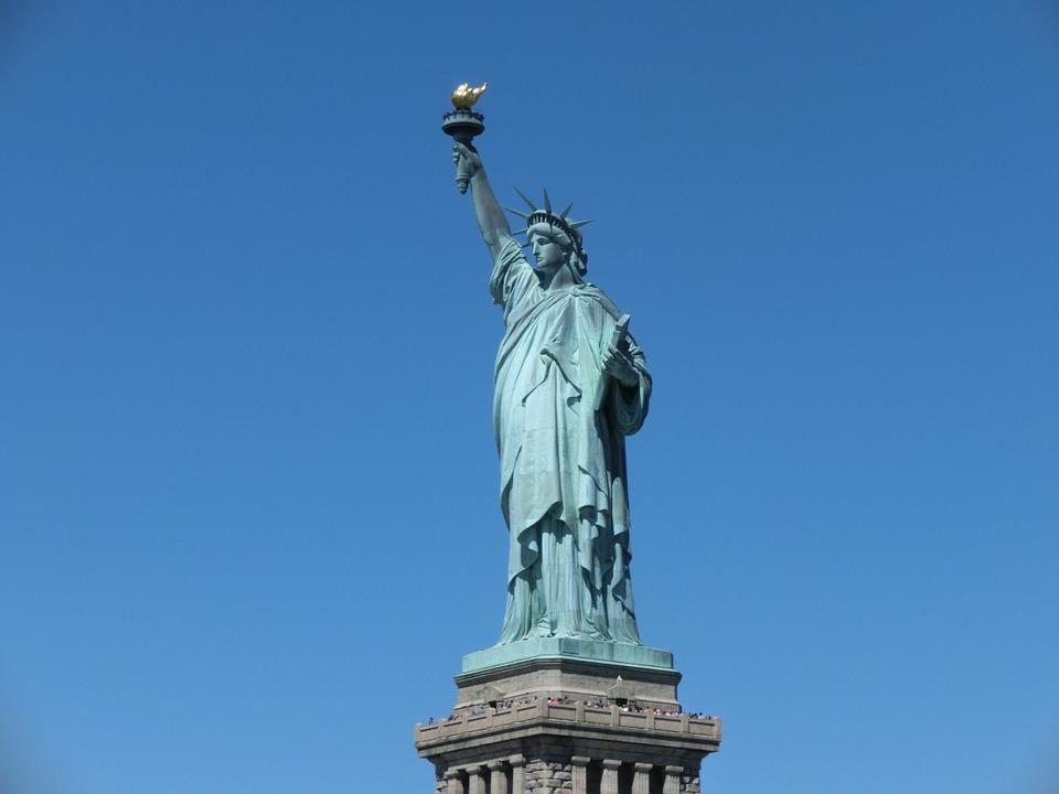 Statue De La Liberté, États Unis, New York, La Liberté