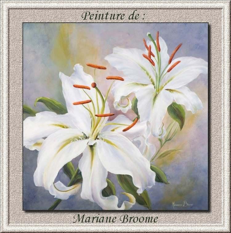 Peinture de : Mariane Broome