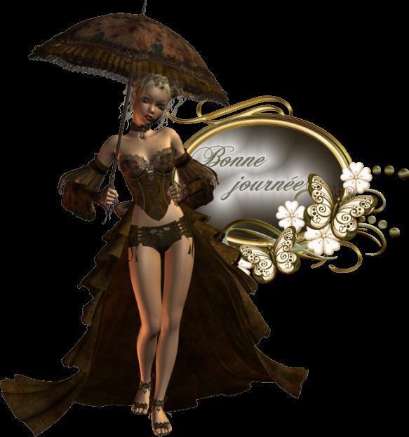 tubes femmes ombrelle