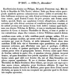 Les feudataires en l'évesché de Dol au XII et XIII siècles; l'Abbaye de Vieuville