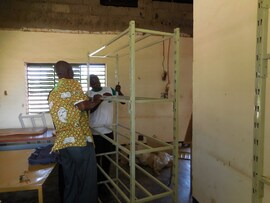 Projet concerté 2013-2015 : La bibliothèque scolaire de Sapouy