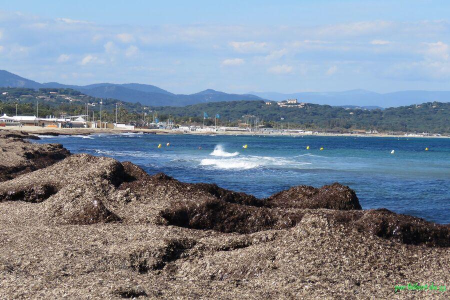 la plage de Ramatuelle (83)