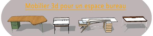 Du mobilier pour pour ton projet!