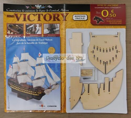 N° 1 Construisez le HMS Victory - Lancement