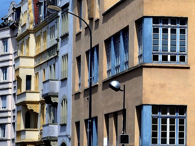 Découvrir quelques Façades de Metz / 21...