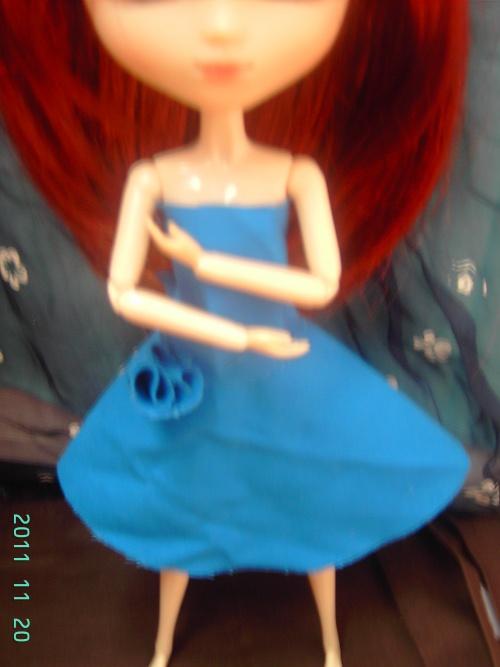 2)Robe bleu