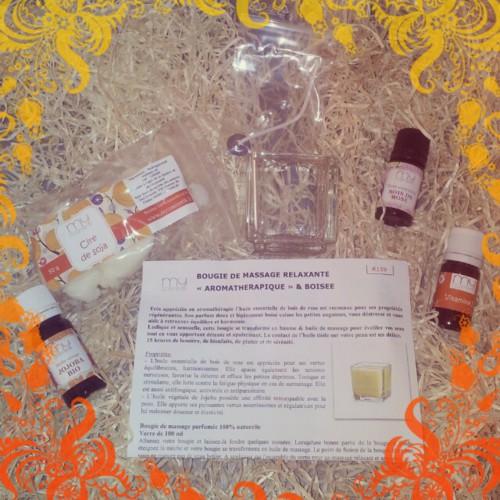 Bougie Relaxante aux huiles essentielles - Test MyCosmetik
