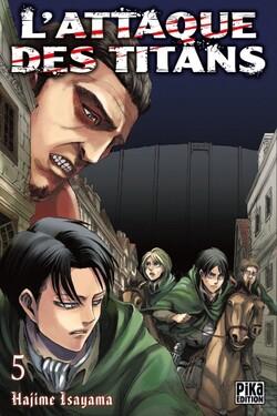 Chronique L'Attaque des Titans - tome 5