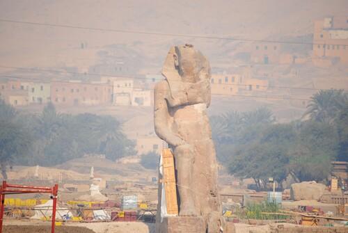 Le3° colosse de Memnon.