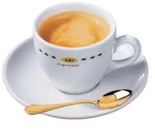 neige et café au petit déjeuner ...