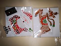 Deux cadeaux de Noel cette année... la mosaique à suspendre