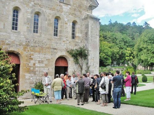 Une belle visite de l'abbaye de Fontenay...