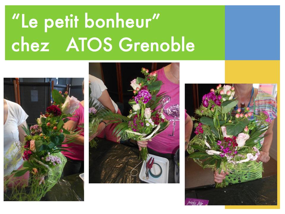 """""""Le petit bonheur"""" chez Atos Grenoble"""