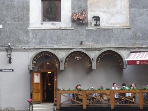 Riga: autour de l'église Zaint Zean et du quartier du Couvent
