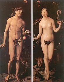 Adam et Eve, par Hans Baldung