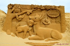 Sculptures de sables (2)