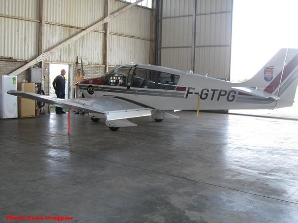 René Drappier a photographié l'entraînement d'aviateurs au terrain d'aviation de Châtillon sur Seine