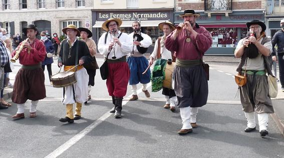 La Banda Tchok à St Valéry en Caux
