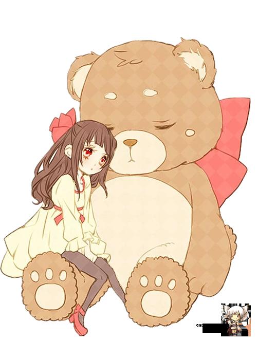 Image de anime, cute, and bear
