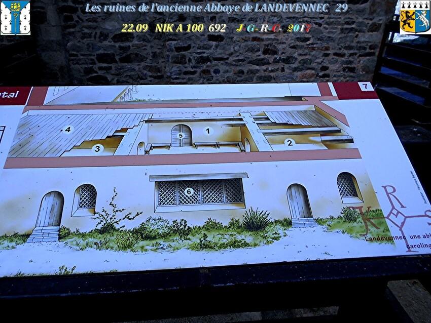 Ancienne  Abbaye  2/4  de  LANDEVENNEC  29      D     19/02/2019