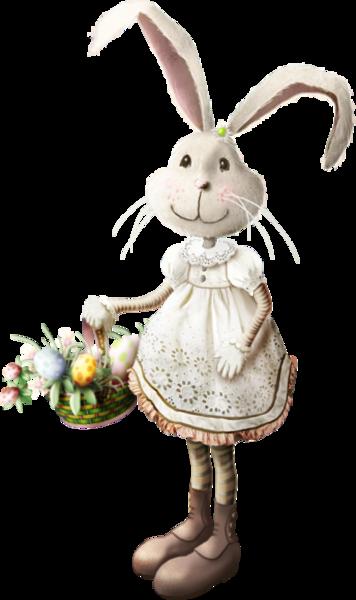 lapinous, clochettes et oeufs.......c'est Pâques !