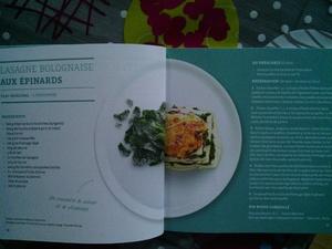 Un livre de recettes à partir de surgelés.