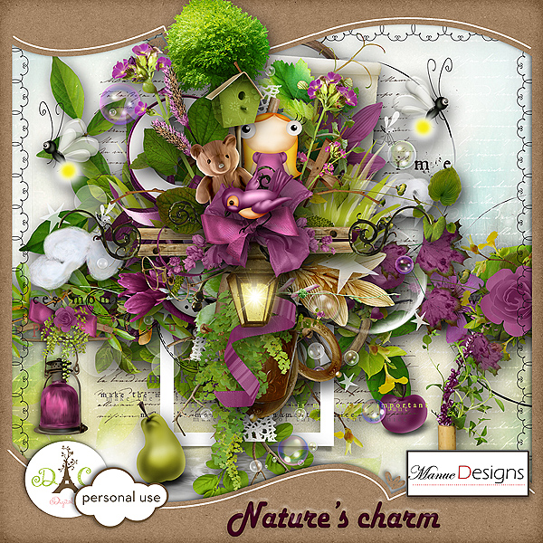"Quickpage ""Nature's charm"""